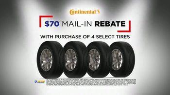 National Tire & Battery Big Brands Bonus Month TV Spot, 'Continental Rebate and Installation' - Thumbnail 4