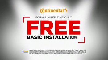 National Tire & Battery Big Brands Bonus Month TV Spot, 'Continental Rebate and Installation' - Thumbnail 5