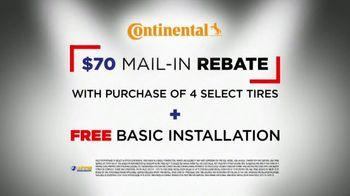 National Tire & Battery Big Brands Bonus Month TV Spot, 'Continental Rebate and Installation' - Thumbnail 9