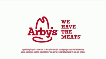 Arby's $1 Menu TV Spot, 'Worried About Spoiling Dinner' Song by YOGI - Thumbnail 10