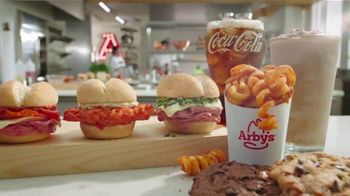 Arby's $1 Menu TV Spot, 'Worried About Spoiling Dinner' Song by YOGI - Thumbnail 5