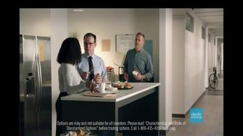 Charles Schwab TV Spot, 'Onion Chive Spread: Trade Up'