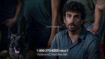 Veterans Crisis Line TV Spot, 'SEAL Team Cast' Featuring David Boreanaz, Max Thieriot - Thumbnail 5