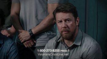 Veterans Crisis Line TV Spot, 'SEAL Team Cast' Featuring David Boreanaz, Max Thieriot - Thumbnail 6