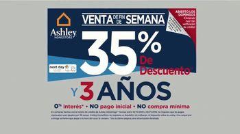 Ashley HomeStore Venta de Fin de Semana TV Spot, 'Sofá Zarina' [Spanish] - Thumbnail 4