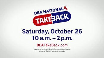 US Drug Enforcement Administration TV Spot, '2019 DEA Takeback Day October: Parker' - Thumbnail 6