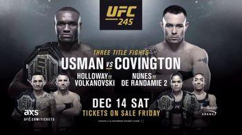 UFC 245 TV Spot, 'Usman vs. Covington' - Thumbnail 9