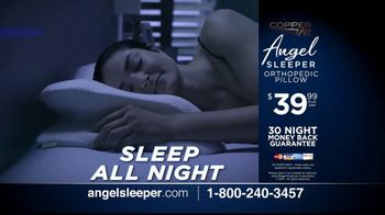 Angel SLEEPER by Copper Fit TV Spot, 'Spine and Neck Alignment' - Thumbnail 9