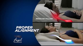 Copper Fit Angel Sleeper Orthopedic Pillow TV Spot, 'Spine and Neck Alignment'