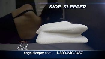Angel SLEEPER by Copper Fit TV Spot, 'Spine and Neck Alignment' - Thumbnail 4