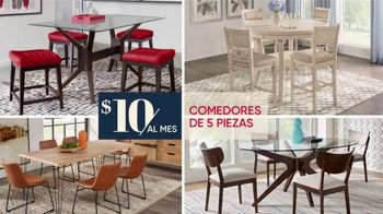 Rooms to Go TV Spot, 'Salas, domitorios y comedores' [Spanish] - Thumbnail 5