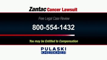 Pulaski Law Firm TV Spot, 'Zantac Cancer Lawsuit' - Thumbnail 3