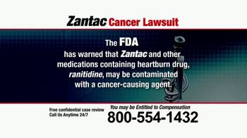 Pulaski Law Firm TV Spot, 'Zantac Cancer Lawsuit' - Thumbnail 5