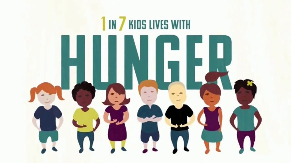 Turn Up! TV Commercial, 'Fight Hunger: One In Seven Kids'