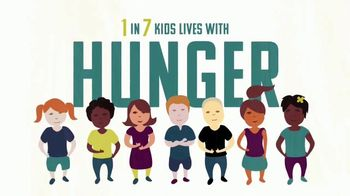 Turn Up! TV Spot, 'Fight Hunger: The Recipe to End Hunger: One in Seven'