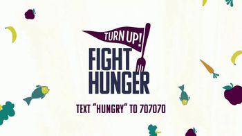Turn Up! TV Spot, 'Fight Hunger: One In Seven Kids' - Thumbnail 7