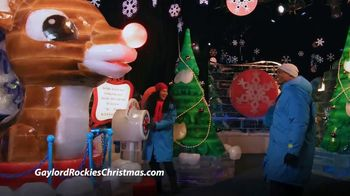 Marriott Gaylord Rockies TV Spot, 'Christmas: Tickets and Packages'