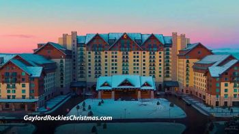 Marriott Gaylord Rockies TV Spot, 'Christmas: Tickets and Packages' - Thumbnail 1