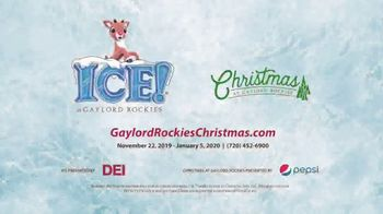 Marriott Gaylord Rockies TV Spot, 'Christmas: Tickets and Packages' - Thumbnail 8