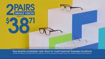 Eyemart Express TV Spot, 'Free Pair of Glasses'