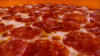 Little Caesars Hot-N-Ready Thin Crust Pizza TV Spot, 'No Crust' - Thumbnail 1