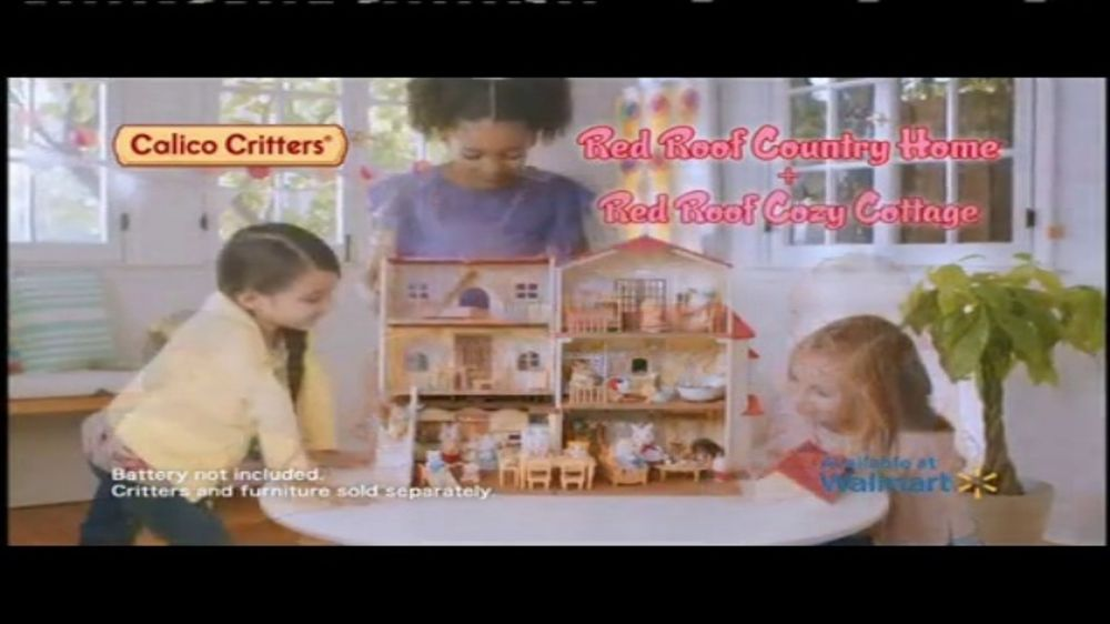Calico Critters Red Roof Country Home Tv Commercial