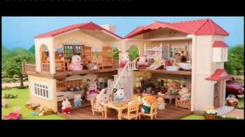 Calico Critters Red Roof Country Home TV Spot, 'Belle's House'