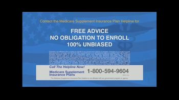 The Medicare Supplement Insurance Plan Helpline TV Spot, 'Help Cover Many Personal Expenses' - Thumbnail 5