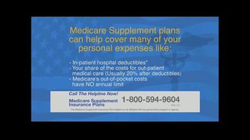 The Medicare Supplement Insurance Plan Helpline TV Spot, 'Help Cover Many Personal Expenses' - Thumbnail 4