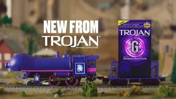 Trojan G-Spot TV Spot, 'Trojan Man: Model Train' - Thumbnail 9