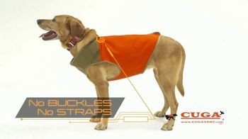 CUGA Vest TV Spot, 'Serious Protection for the Active Dog' - Thumbnail 4