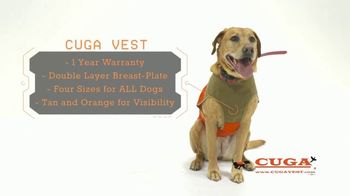 CUGA Vest TV Spot, 'Serious Protection for the Active Dog' - Thumbnail 6