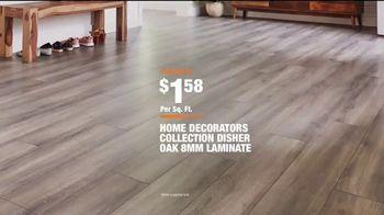 The Home Depot TV Spot, 'Unexpected: Home Decorators Disher Oak 8mm Laminate' - Thumbnail 10