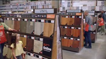 The Home Depot TV Spot, 'Unexpected: Home Decorators Disher Oak 8mm Laminate' - Thumbnail 3