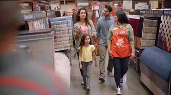 The Home Depot TV Spot, 'Unexpected: Home Decorators Disher Oak 8mm Laminate' - Thumbnail 4