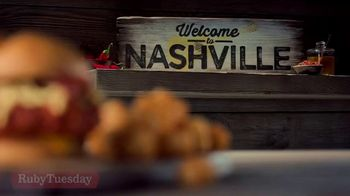 Ruby Tuesday Hot Honey & Bacon Chicken TV Spot, 'Welcome to Nashville'