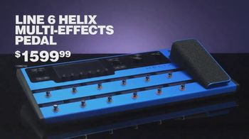 Guitar Center Guitar-A-Thon Sale TV Spot, 'Helix Pedal and Boss Amp' - Thumbnail 4