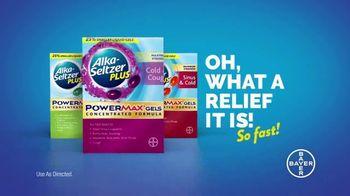 Alka-Seltzer Plus TV Spot, 'Skip Through Cold Symptoms'