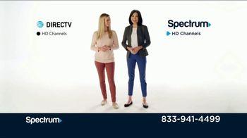 Spectrum TV + Internet TV Spot, 'Comparison Speeds & Sports: DIRECTV' - Thumbnail 2