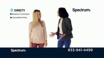 Spectrum TV + Internet TV Spot, 'Comparison Speeds & Sports: DIRECTV' - Thumbnail 7