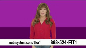 Nutrisystem Personal Plans Two for One Sale TV Spot, 'People Are Different' Featuring Marie Osmond - Thumbnail 1