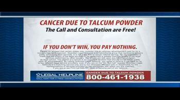 Guardian Legal Network TV Spot, 'Ovarian Cancer Due to Talcum Powder' - Thumbnail 9