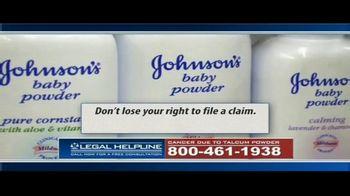 Guardian Legal Network TV Spot, 'Ovarian Cancer Due to Talcum Powder' - Thumbnail 6