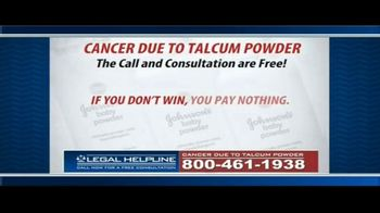 Guardian Legal Network TV Spot, 'Ovarian Cancer Due to Talcum Powder' - Thumbnail 8