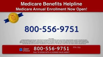 Open Choice Medicare Benefits Helpline TV Spot, 'Additional Medicare Covered Benefits' - Thumbnail 9