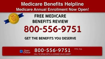 Open Choice Medicare Benefits Helpline TV Spot, 'Additional Medicare Covered Benefits' - Thumbnail 2