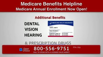 Open Choice Medicare Benefits Helpline TV Spot, 'Additional Medicare Covered Benefits' - Thumbnail 4