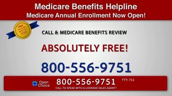 Open Choice Medicare Benefits Helpline TV Spot, 'Additional Medicare Covered Benefits' - Thumbnail 5