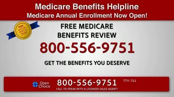 Open Choice Medicare Benefits Helpline TV Spot, 'Additional Medicare Covered Benefits' - Thumbnail 7