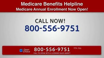 Open Choice Medicare Benefits Helpline TV Spot, 'Additional Medicare Covered Benefits' - Thumbnail 8
